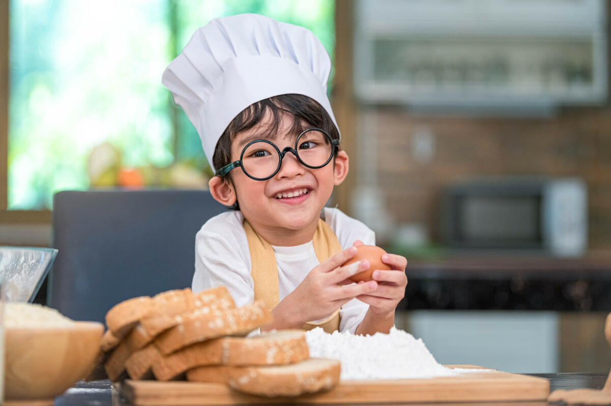 baking with a toddler and the different lessons they can learn from Summit Children's Center