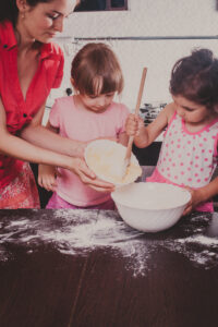 Tips for baking with a toddler by Summit Children's Center