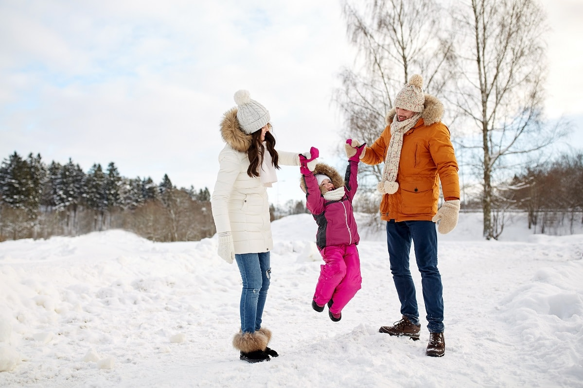 Activities to keep kids active in the winter