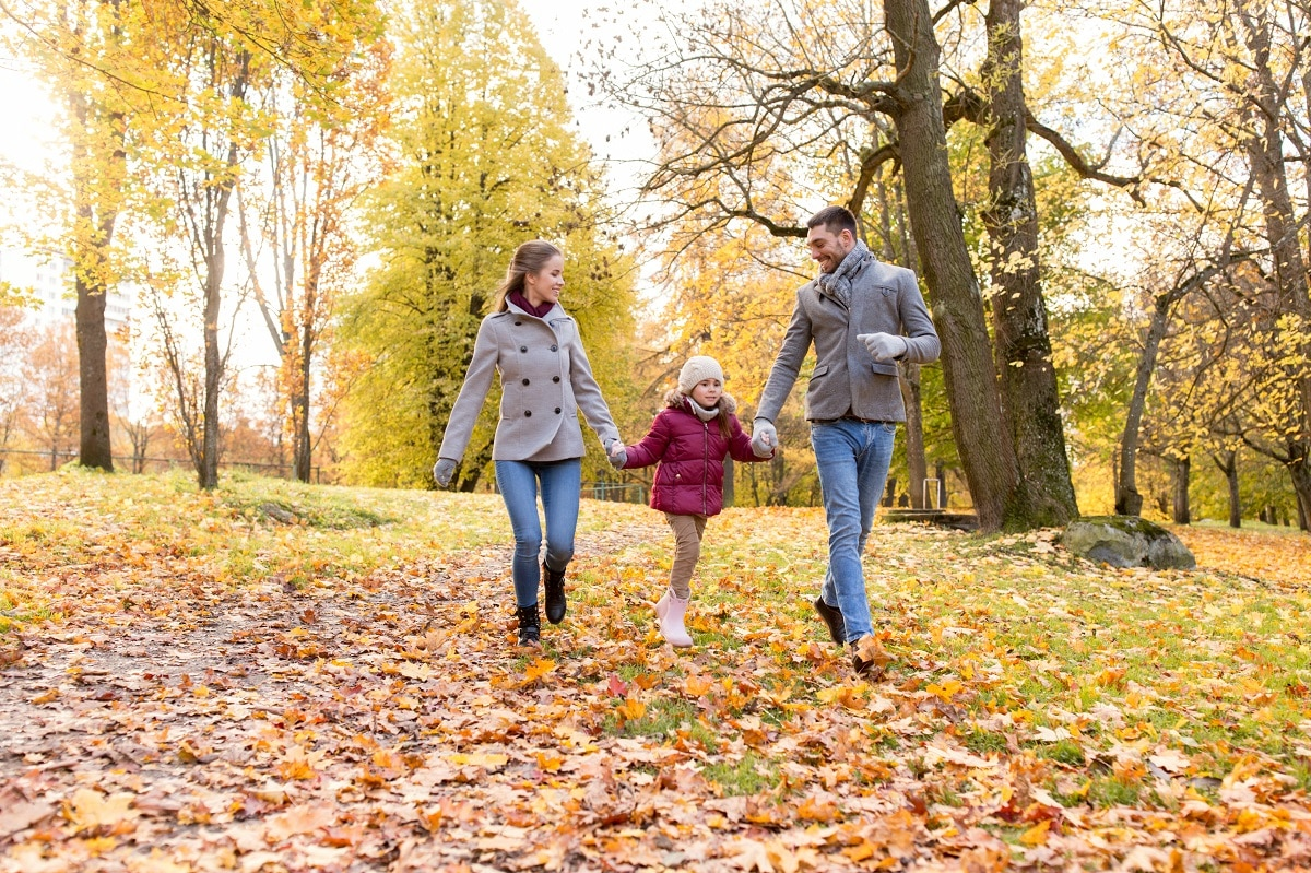 Fall activities for kids by Summit Children's Center