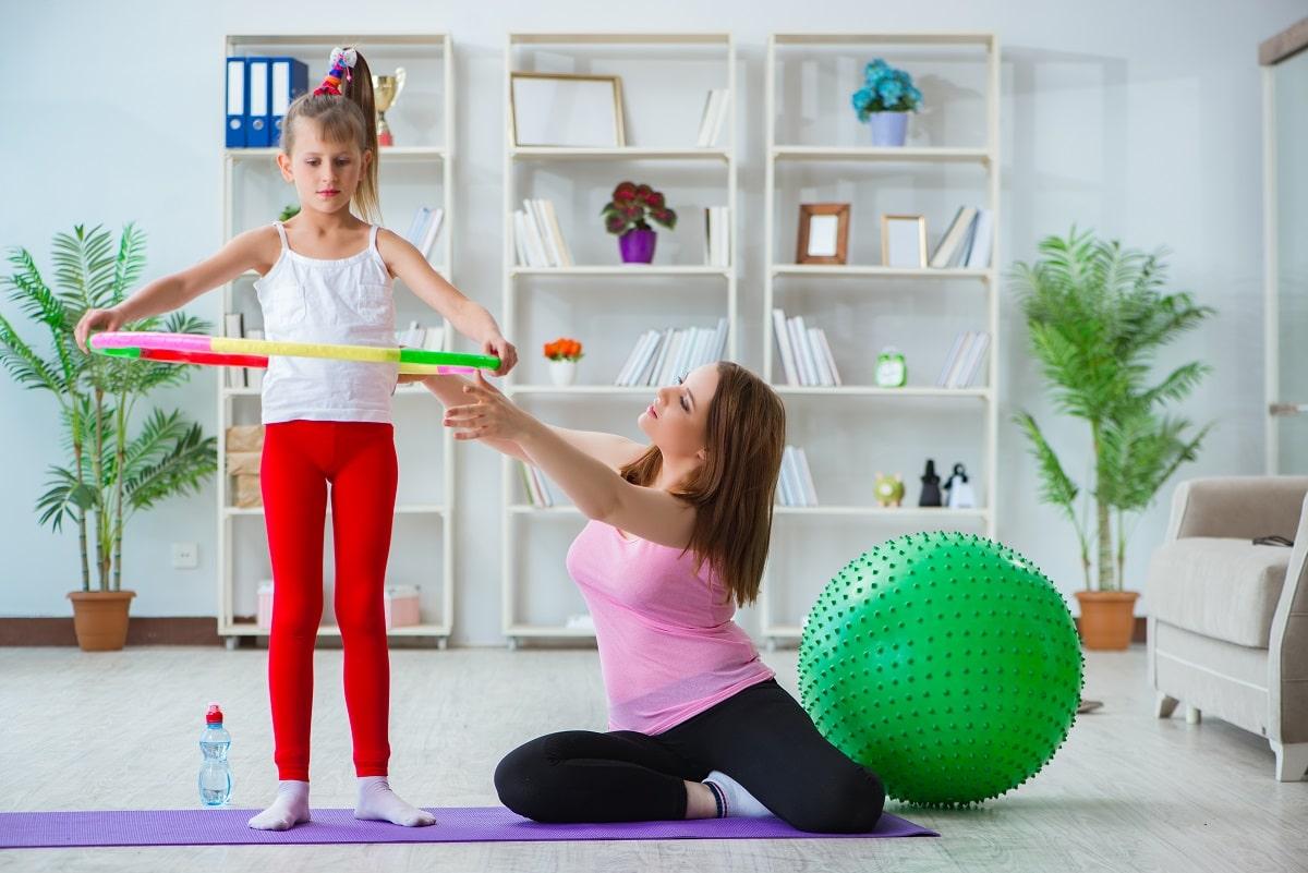 ways to keep kids active